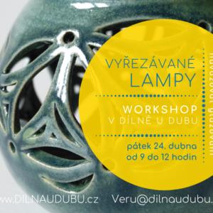 Vyřezávané lampy   dopolední workshop