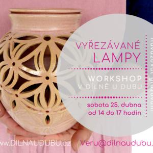 Vyřezávané lampy   odpolední workshop
